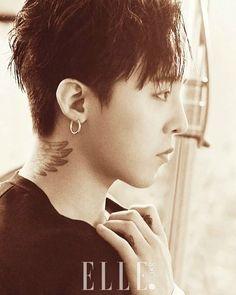 "G-Dragon for ""Elle Korea"" [PHOTO] - bigbangupdates"