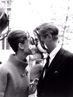 Cat and Dog Mask - Breakfast at Tiffany's.