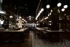 Weslodge Saloon, Toronto. Interior design by Studio Munge.