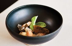 Five Oyster Soup featured in Food Arts magazine.