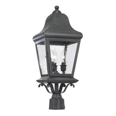 Elk Lighting Artistic 5313-C Outdoor Post Lantern Belmont