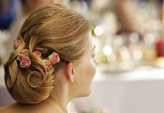 roses in the hair