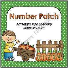 Number Patch (4 Activities for Learning 0-20)  from Teaching With Nancy  on TeachersNotebook.com (50 pages)