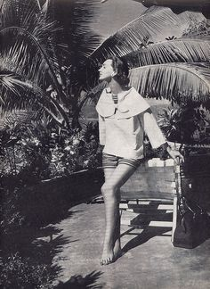 beach wear 1955. Ruth Neumann Derujinsky