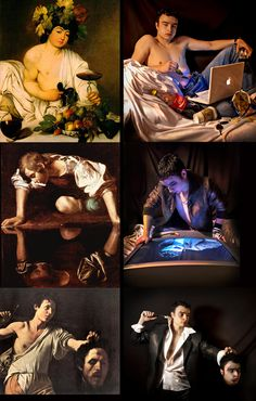 Comparative works of Neo Caravaggio