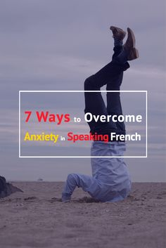 7 Ways to Overcome Anxiety in Speaking French. http://www.talkinfrench.com/speaking-anxiety-french/ Frederic Bibard french teacher says there are so many ways to fumble on the word genders, mispronounce the words to the point of incoherence, forget the right vocabulary, or probably use the wrong tense. Check out talkinfrench.com for more