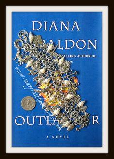 Scotland Highlands OUTLANDER Celtic Link Chain Mail Charm Bracelet, $85.00