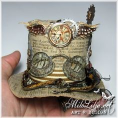 Milo Lilja - Art & Design and the hat reminds me of the madd hatter!!