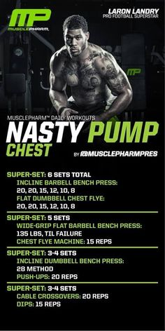 Chest Workout | Posted by: CustomWeightLossProgram.com