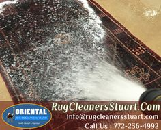 Oriental Rug Cleaning Service in Stuart Area  When you live in your home for several years, there is a good chance you are going to make some changes. It comes with the time. Once upon a time, the only flooring you saw was carpeting throughout and there was a huge need for carpet cleaners.