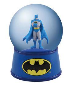 Sulking Batman in a water globe. How can you not? #zulilyfinds