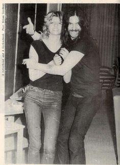 Lemmy & Kelly Johnson (Girlschool)