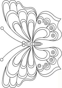 Free butterfly pattern templates - New Site Butterfly Quilt, Butterfly Template, Butterfly Pattern, Butterfly Art, Crown Template, Butterfly Mobile, Heart Template, Paper Butterflies, Flower Template