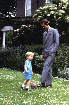 Two Princes: Prince William and Prince Charles