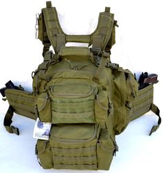 Ultimate Deluxe Tactical Assault 3-Day 72 Hours Survival Pack Backpack