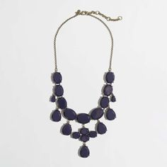 J.Crew Factory dangling jewels necklace
