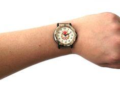 Vintage military watch, quartz watch Komandirskie, watch Comanders, men's watch…