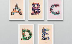 Wanderlust Alphabet, el proyecto 'viajero' de Jack Daly