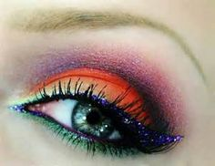 rainbow color guard makeup - Bing Images