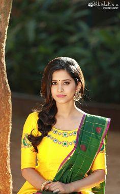 Nabha Natesh Latest Images, Pictures, Stills Beautiful Bollywood Actress, Beautiful Indian Actress, Beautiful Saree, Beautiful Actresses, Beautiful Women, Beautiful Celebrities, Beautiful People, Cute Girl Photo, Cool Girl