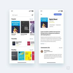 from @cvizcarra92 - Daily UI challenge App for learn new things about UX reading books in the correct order . . _______ Today I am buying…
