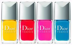 Acapulco, Calipso, Cosmo and Lagoon by Dior