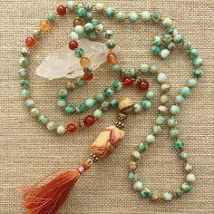 Come make a #mala #nacklace with Christina @cordeliajanedesigns Sunday afternoon…