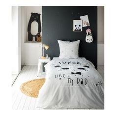 Detské posteľné obliečky s pandou COOL PANDA Cool Panda, Toddler Bed, Furniture, Home Decor, Stream Bed, Child Bed, Decoration Home, Room Decor, Home Furnishings
