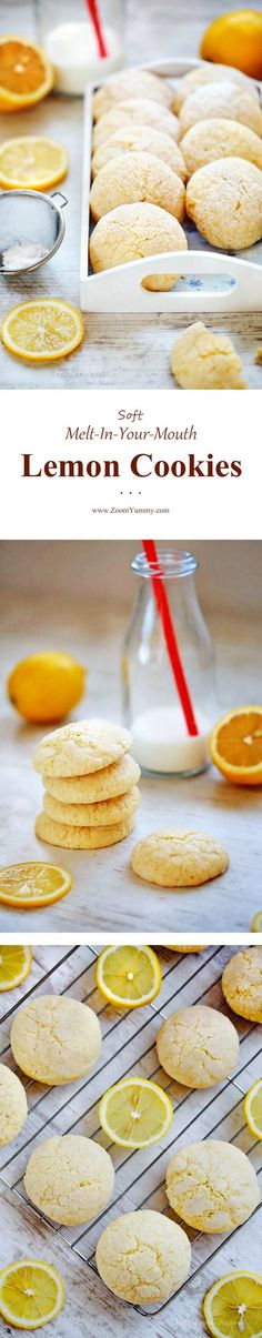 I have a real treat for lemon lovers out there. These wonderful lemon cookies will touch your heart. Guaranteed!   Containing lemon juice and lemon zest, they are packed with rich and fresh lemon flavor. It's the real deal, guys.   And the texture? Tender and crumbly, dangerously addictive with their melt-in-your-mouth quality ... Read more...