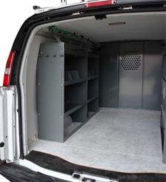 16 Work Van Ideas Van Van Shelving Ladder Rack
