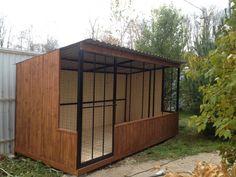 Еnclosure for dogs,house for dog. Вольер для собаки от компании ФрендХом.