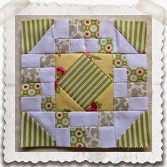 Threadbare Creations: Chatelaine- Free BOW Sampler Quilt Block 16