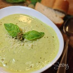 The Whole Serving: Summer Squash Creamy Soup