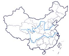 awesome China map coloring page