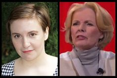 EXCLUSIVE:Both are best-selling authors, both have cracked a glass ceiling or two, and both have been nominated for Emmys, but there really isn't a lot that Lena Dunham and Peggy Noonan have in co...