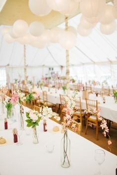 marquee decor rustic floral love fest sunset wedding http://www.saccophotography.co.uk/