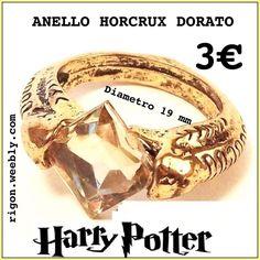 ANELLO HARRY POTTER HORCRUX  COLLEZIONE