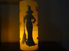 Halloween candle holder lantern Witch with bats. Halloween Lanterns, Halloween Art, Holidays Halloween, Vintage Halloween, Halloween Decorations, Haunted Halloween, Primitive Christmas, Country Christmas, Nautical Gifts