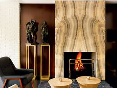 A chic sitting area at the Portrait Firenze hotel, which opened last year.