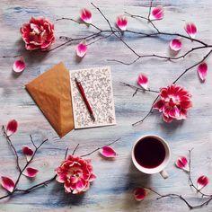 Вдохновение в каждой чашке кофе, в каждом радостном моменте, в каждой частичке весны за окном и конечно же в любимых людях ☺ #ellenespresso #mynespresso