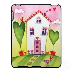 Google Image Result for http://rlv.zcache.com/whimsical_house_ipad_case_speckcase-p176265112762437834bhar2_400.jpg