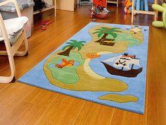 Arte Espina Speeltapijt - vloerkleed Joy Piraten Eiland - Online Babywinkel De Babykraam