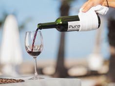 Come to Purobeach Marbella and enjoy an excellent glass of #wine at our #terrace with great sea views  | Ven a Purobeach Marbella y disfruta de una excelente copa de #vino en nuestra #terraza con unas vistas estupendas