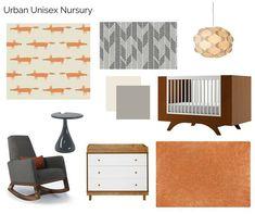 The Interior Design Advocate Diy Bedroom Decor, Nursery Decor, Mid Century Nursery, Unisex Nursery Colors, Nursery Curtains, Nursery Modern, Cribs, Mid-century Modern, Interior Design