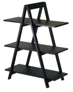3 Tier A Frame Bookshelf