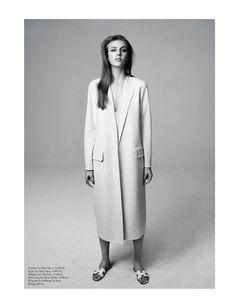 """Elegance"" for Eurowoman (Denmark) March 2014 Photographer: Jonas Bie Stylist: Gertrud Maria Bønnelykke Model: Hedvig Palm"