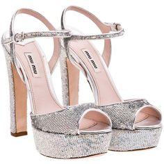 Miu Miu Sandals ($950) found on Polyvore