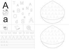Fișa literei A Word Search, Preschool, Reading, Books, 1st Grades, Livros, Preschools, Libros, Word Reading