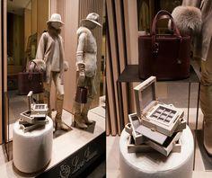Loro Piana Fashion Week windows 2014, Milan   Italy window display