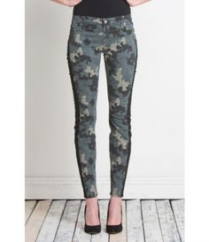Side Stripe Camo Pants at Duck & Dressing